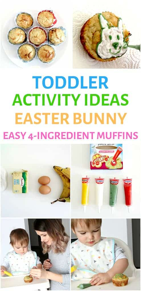 toddler easter activity ideas bunny muffin