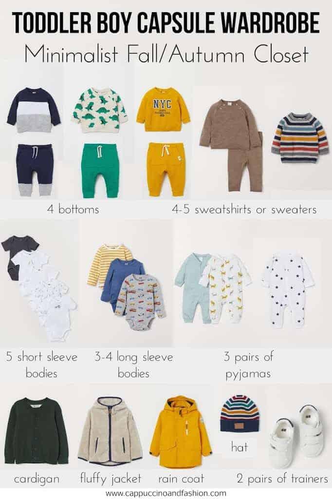 toddler boy capsule wardrobe picks