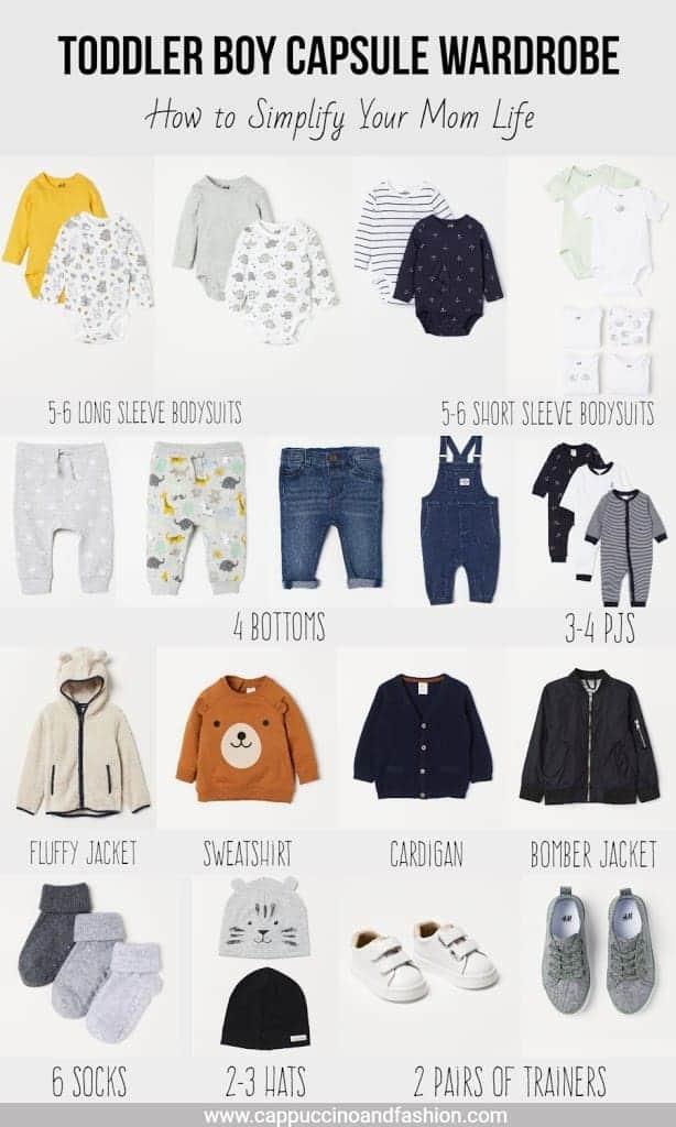 toddler boy capsule wardrobe