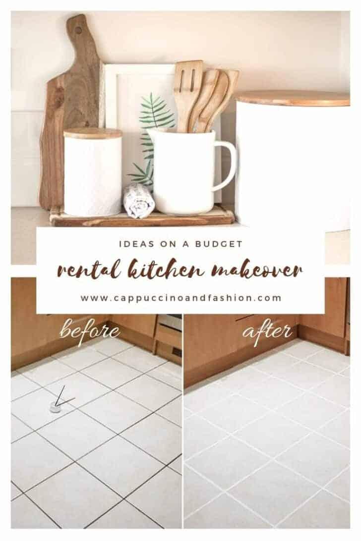rental kitchen makeover ideas on a budget