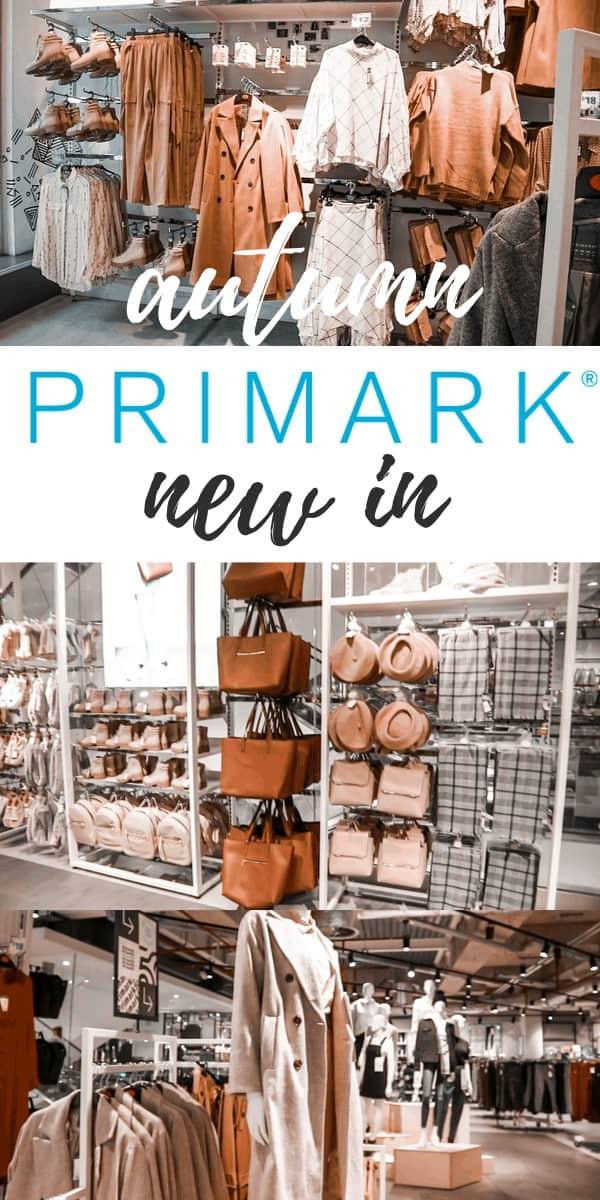 what's new in Primark autumn winter 2019