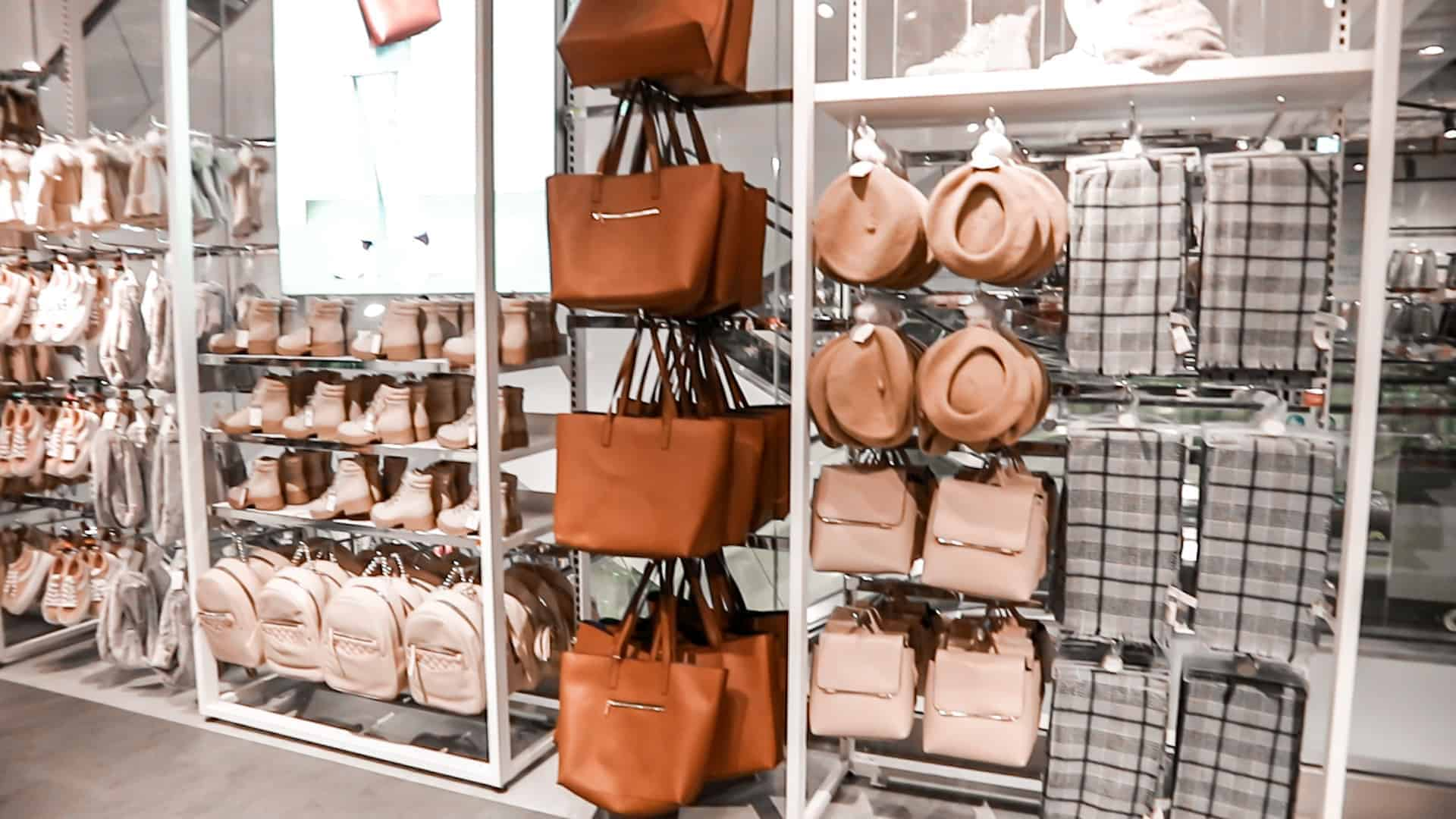 camel and brown shades new in Primark London stores