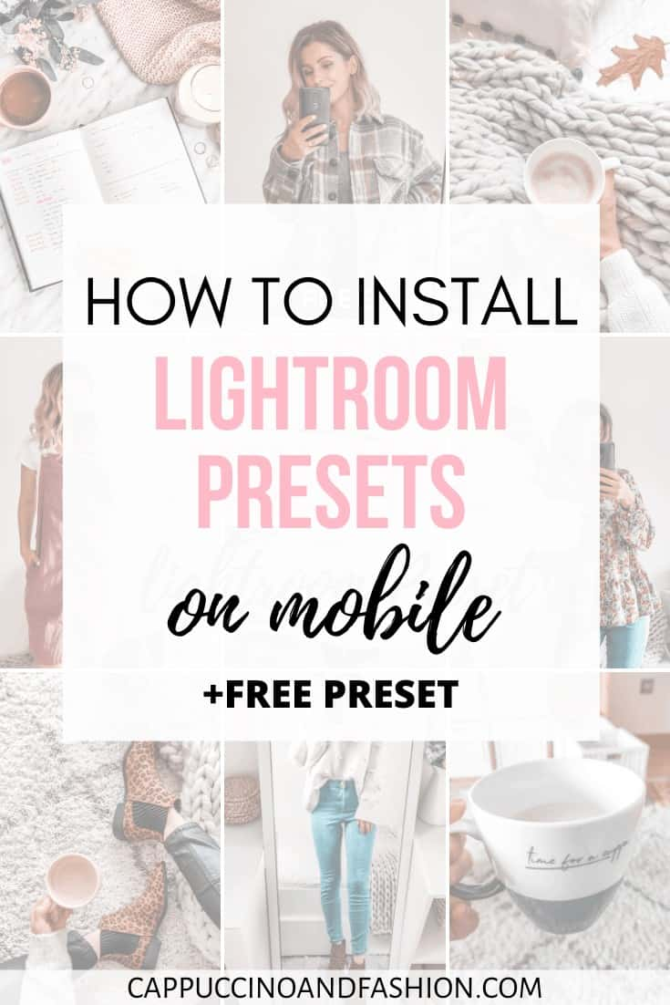 how to install lightroom presets on mobile app with free preset