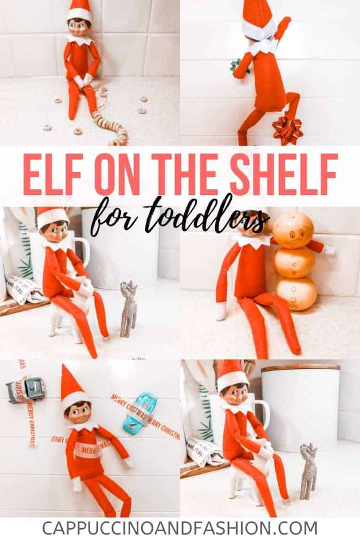 elf on the shelf ideas for toddlers in under 5 minutes