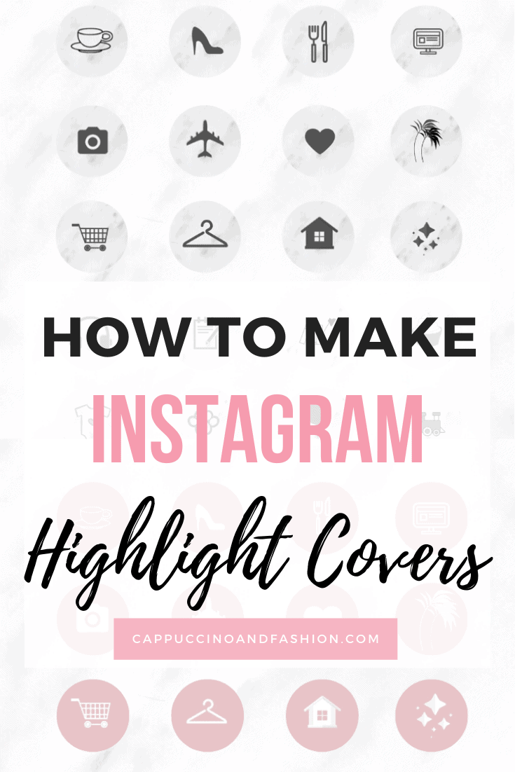 how to make instagram highlight covers free in canva