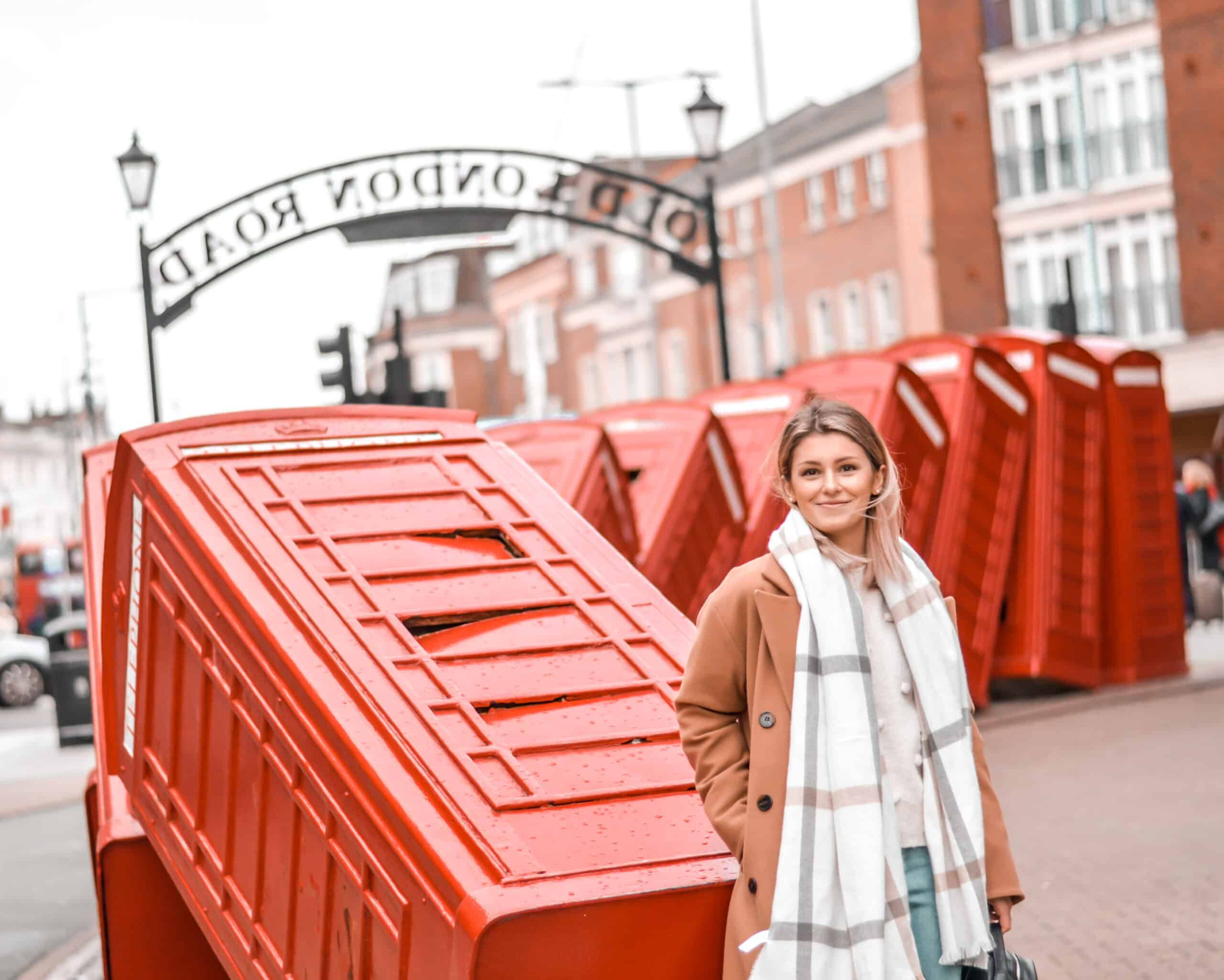 london street style camel coat autumn winter outfit primark