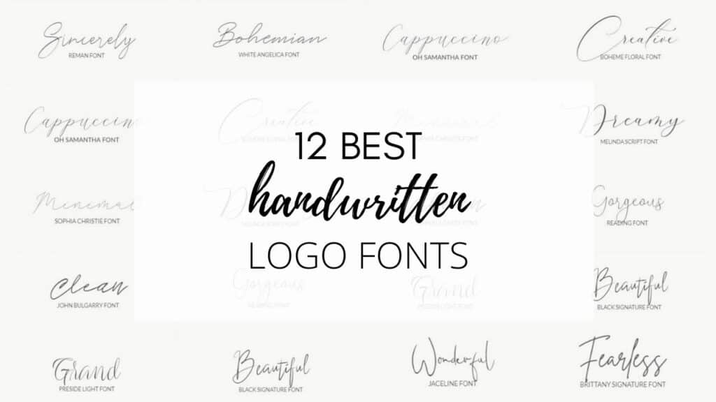 best free logo fonts for your blog