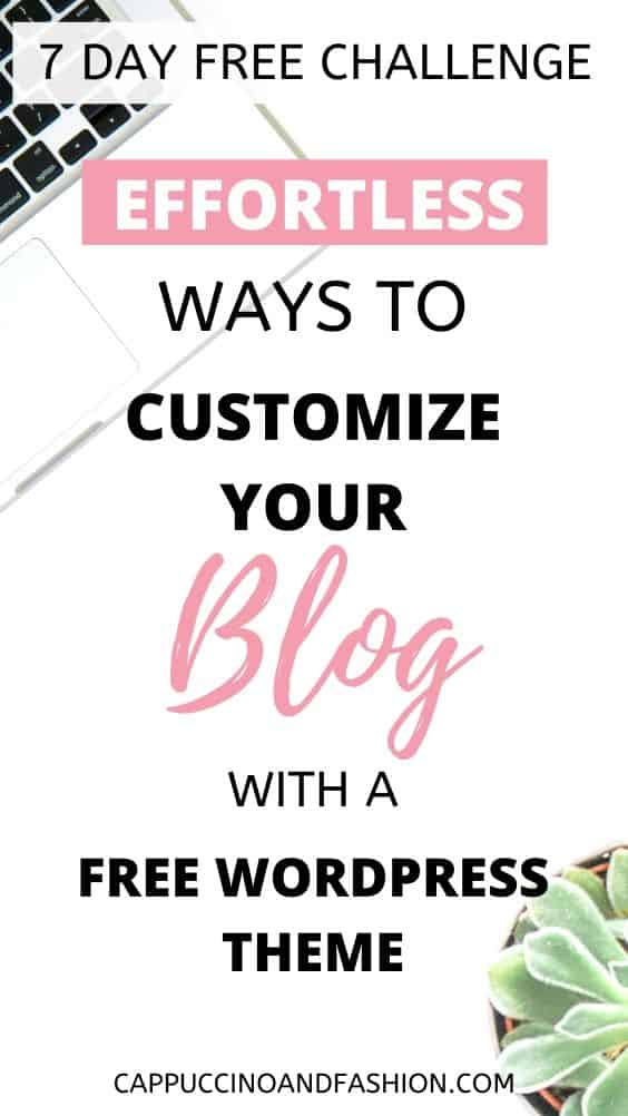 how to customize a blog for absolute beginners start a blog in 2020