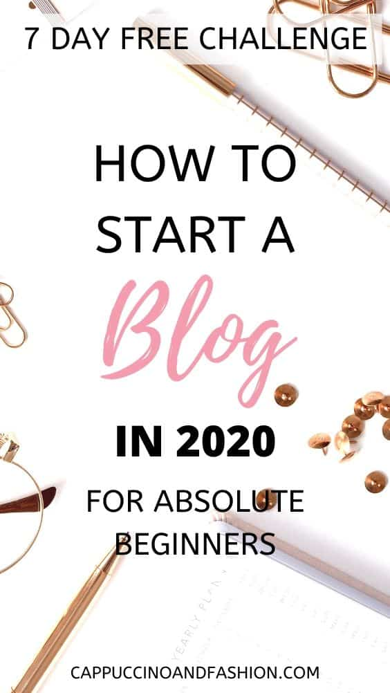 how to start a blog in 2020 and start making money blogging