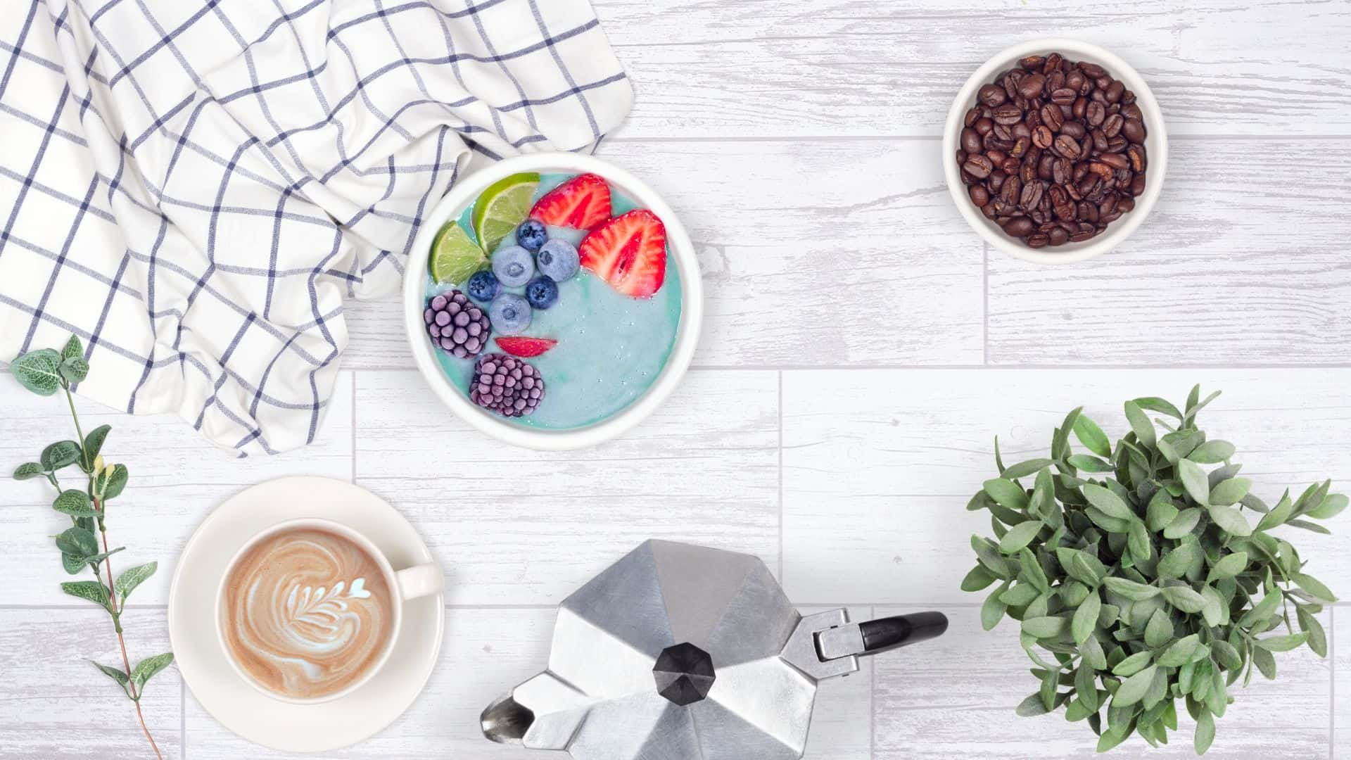 how to create a photo with kitchen props