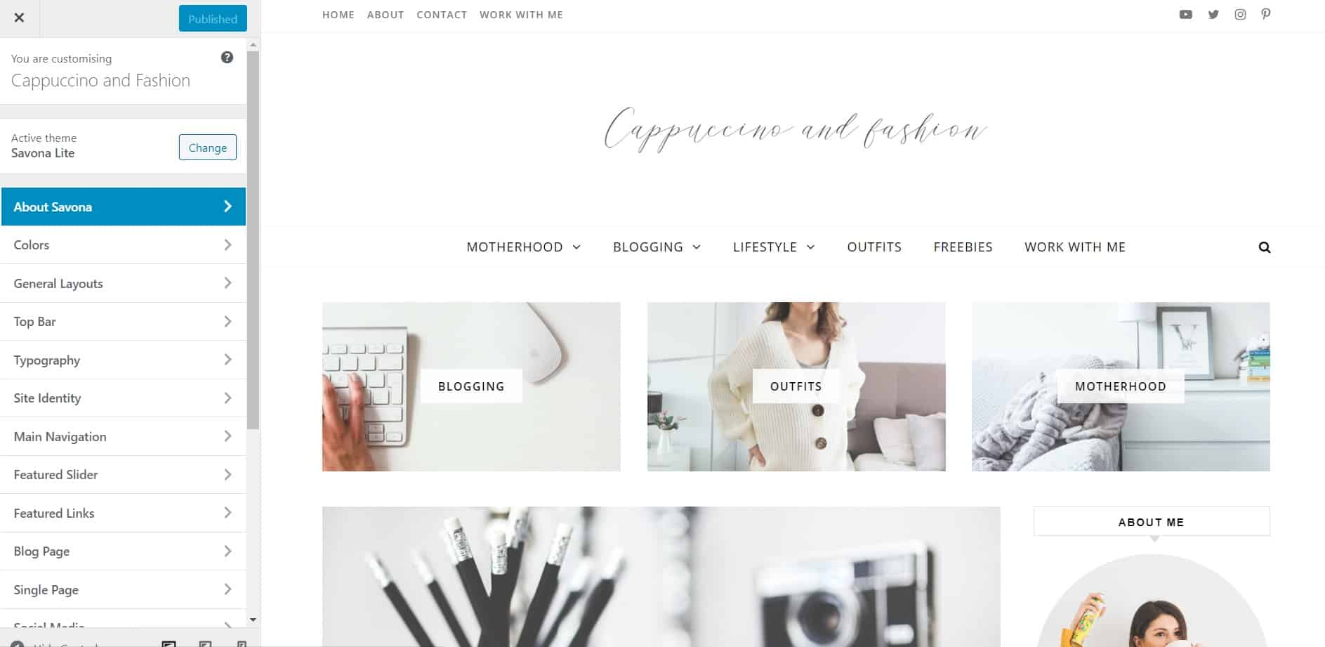how to customize free blog theme wordpress how to start a blog