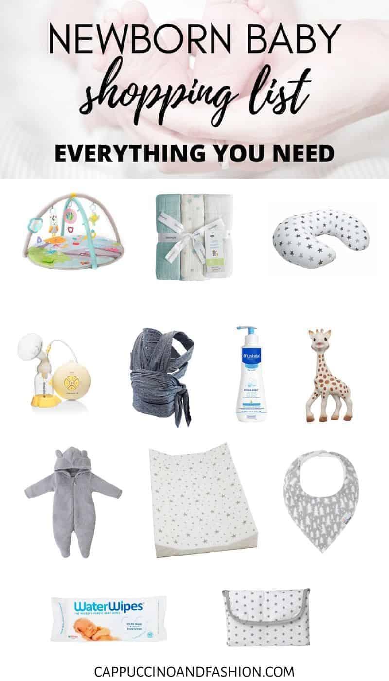 newborn baby shopping list baby registry amazon