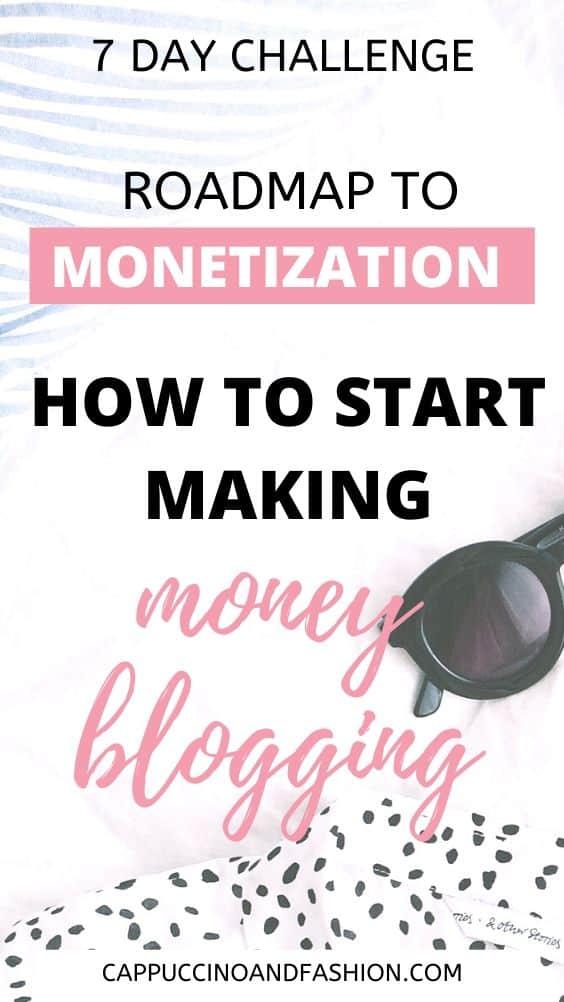 roadmap to monetization how to start making money blogging in 2020