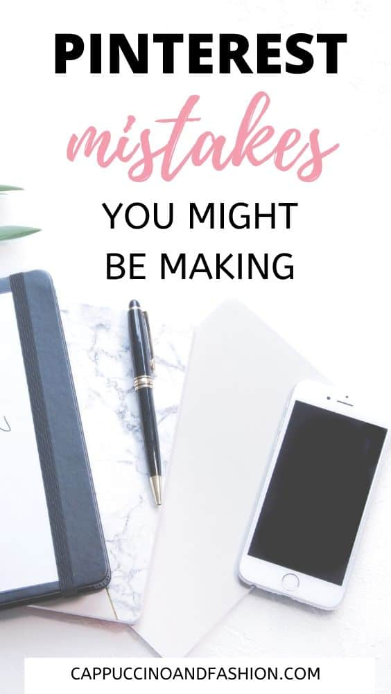 pinterest mistakes you might be making