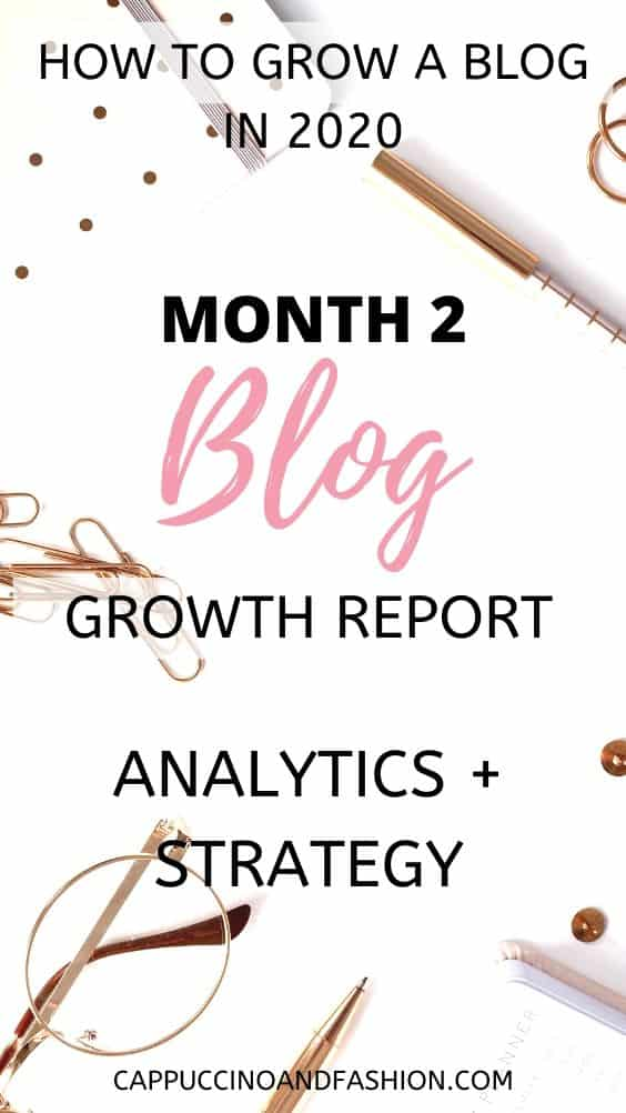month 2 blog growth report analytics and strategy