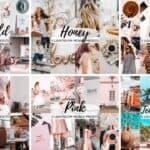 75 lightroom mobile presets for instagram bloggers