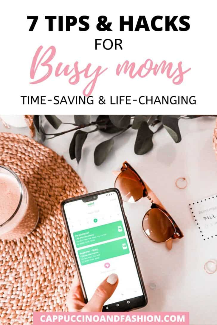 7 tips and hacks for busy moms