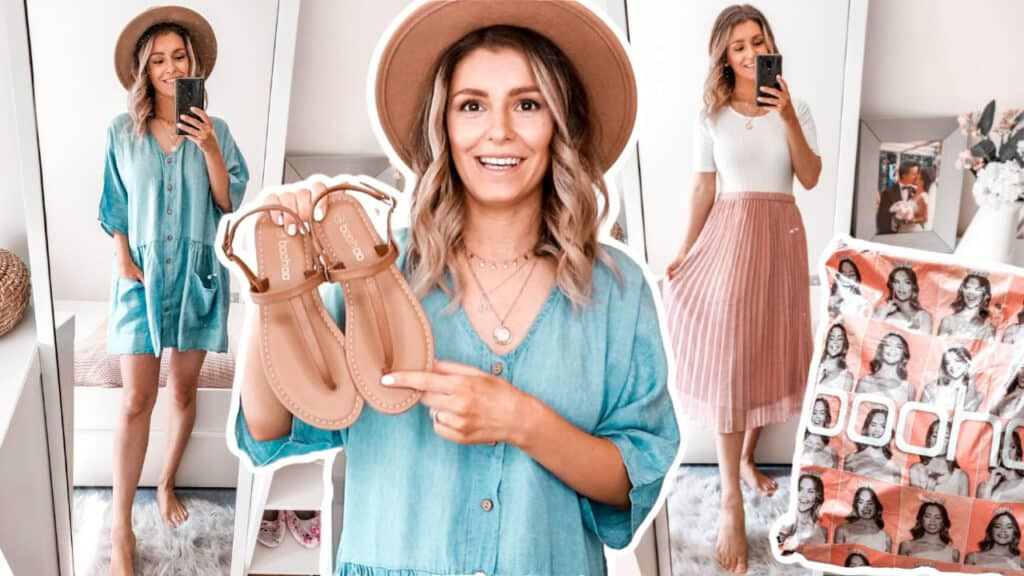 Boohoo haul spring summer outfit ideas