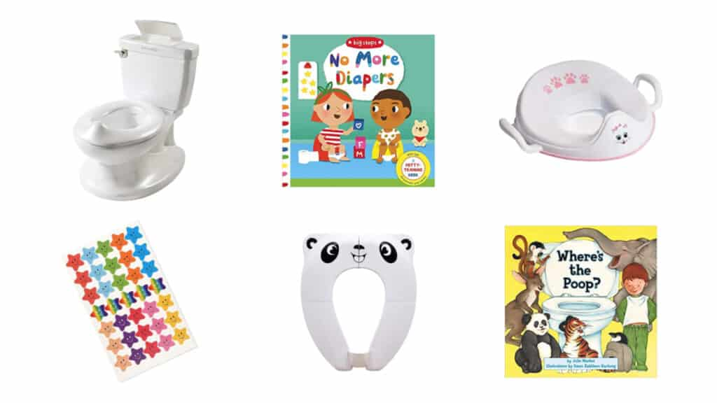 potty training toddler must haves essentials