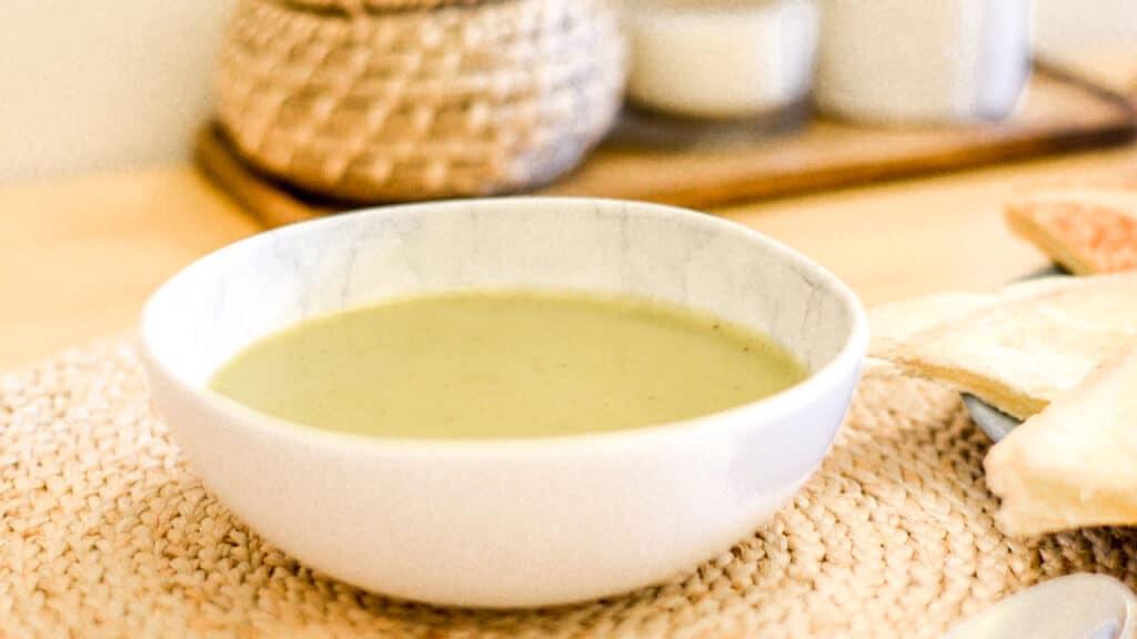 Broccoli cream soup recipe