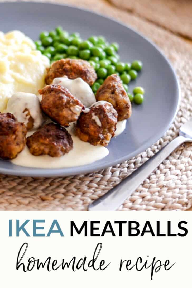 IKEA meatballs fakeaway easy recipe