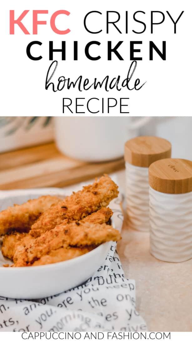 KFC crispy chicken homemade recipe