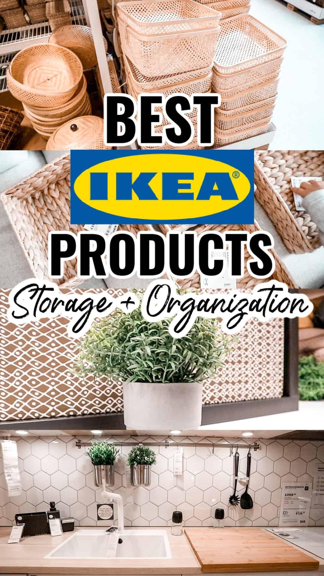 Best IKEA products under 20 storage and organization ideas