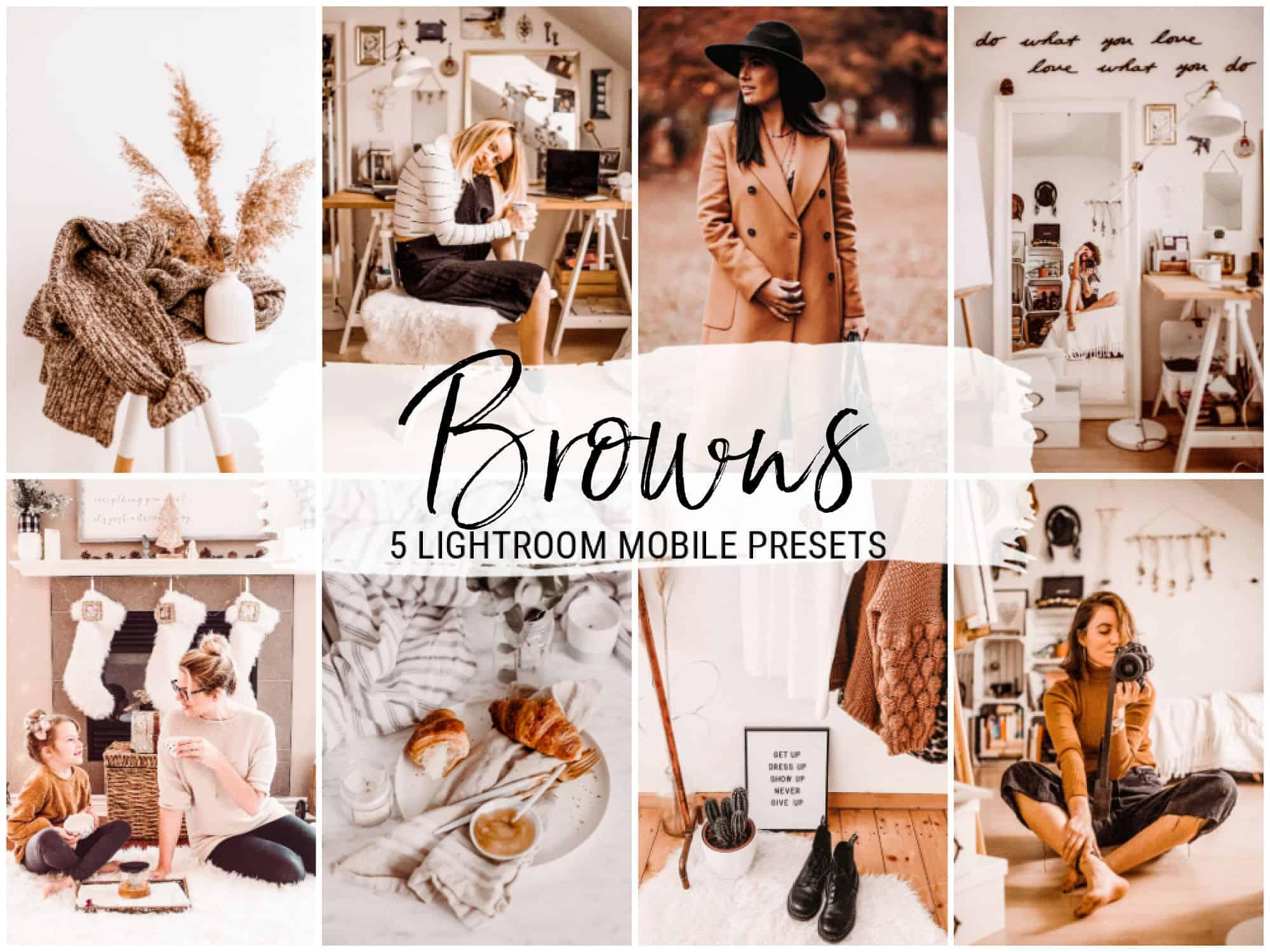 Browns bright lightroom presets