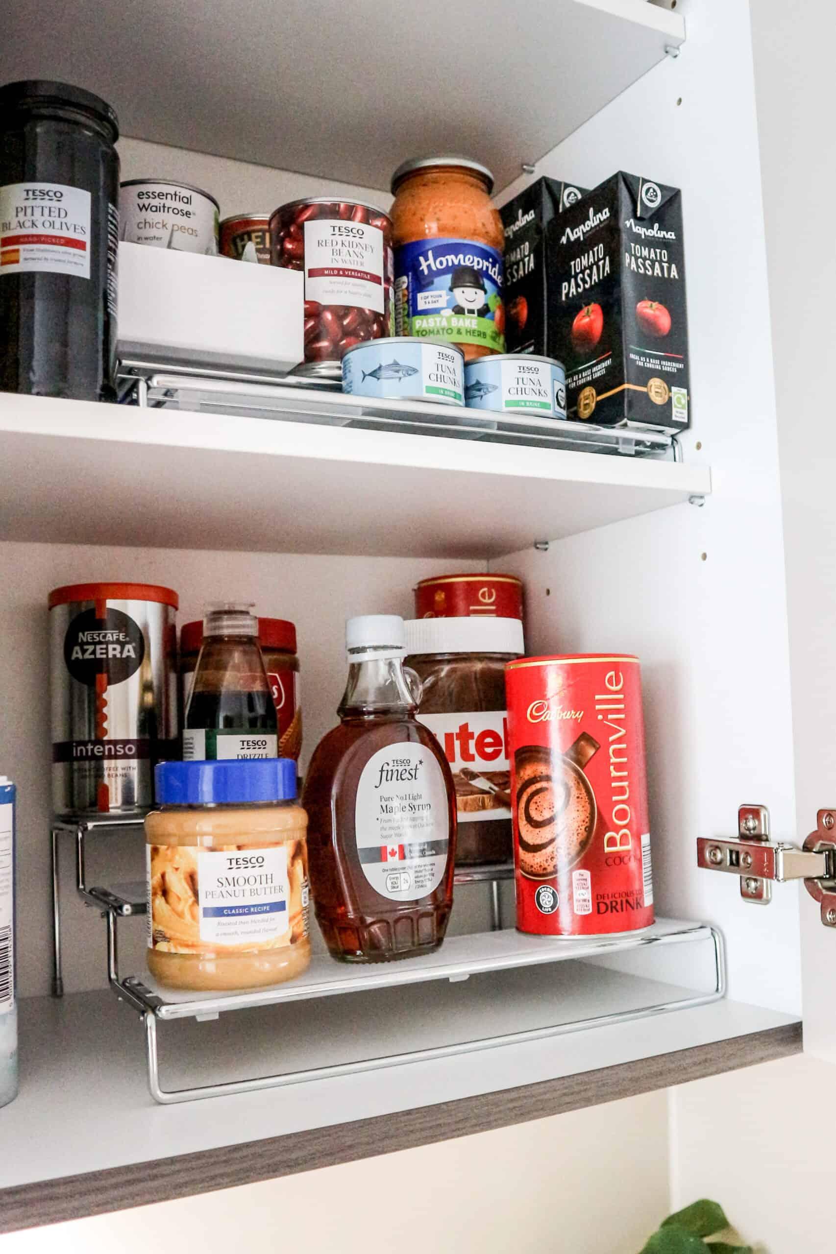 Kitchen storage organization tips and hacks