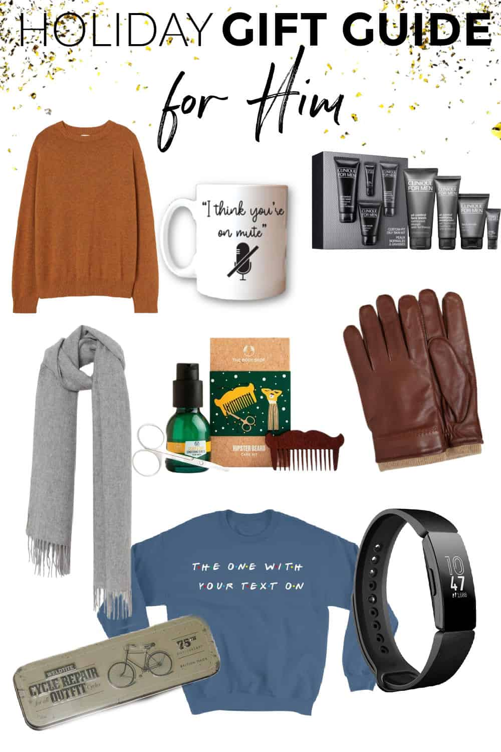Holiday gift guide for him Christmas 2020