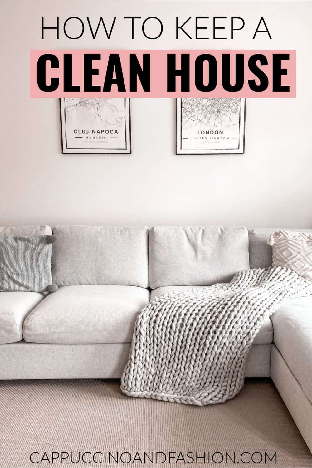 How to keep a clean house with these easy habits