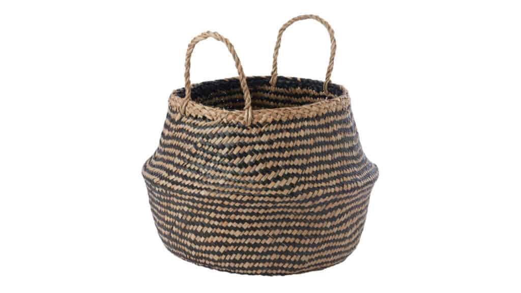 Krallig IKEA seagrass basket storage tips
