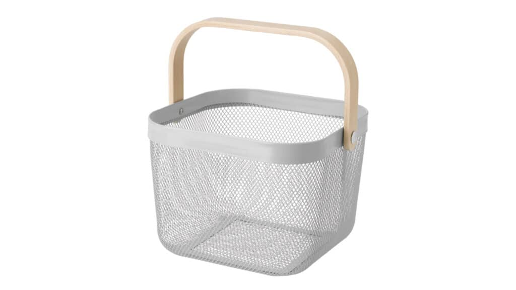 Risatorp IKEA basket organizing tips and ideas