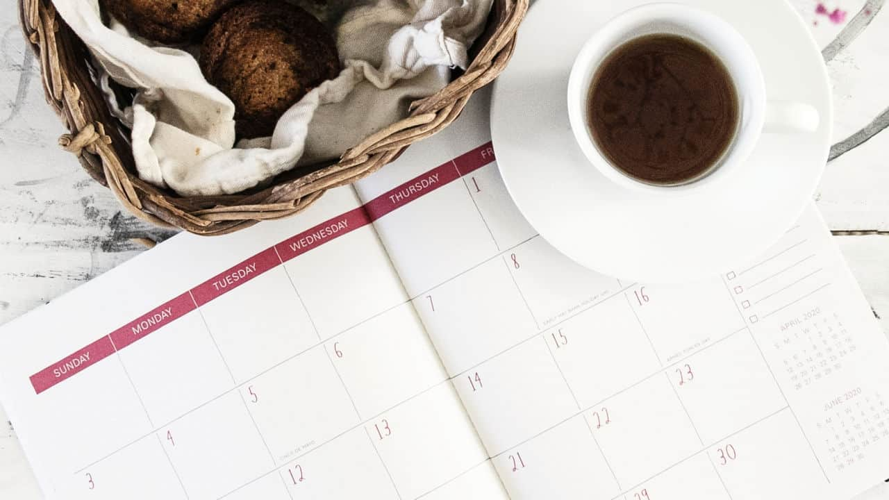Social media content calendar 2021 UK Key Marketing Dates