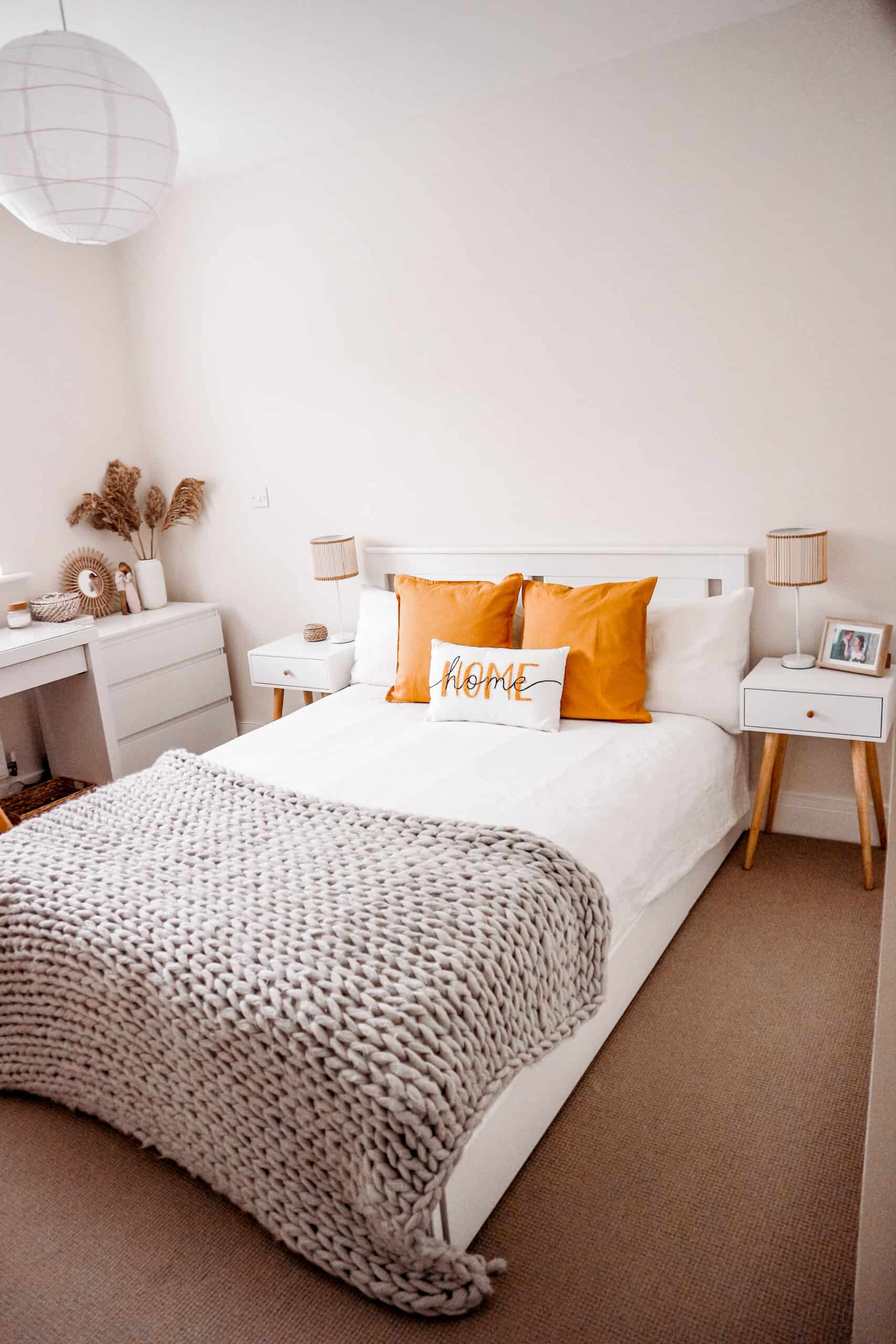 IKEA bed bedroom ideas on a budget