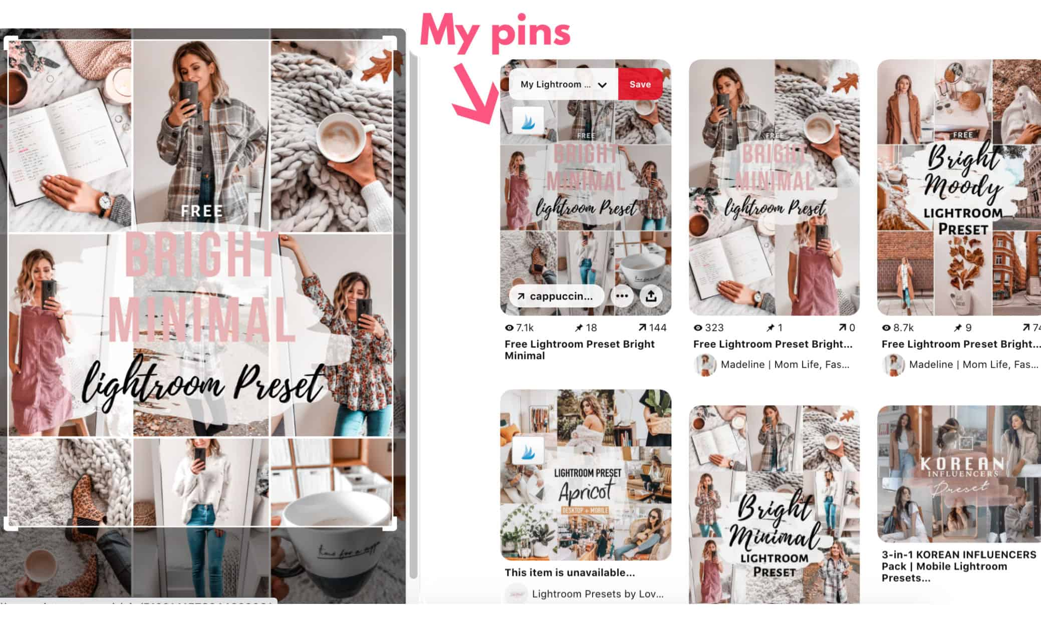 How to find your stolen pins on Pinterest