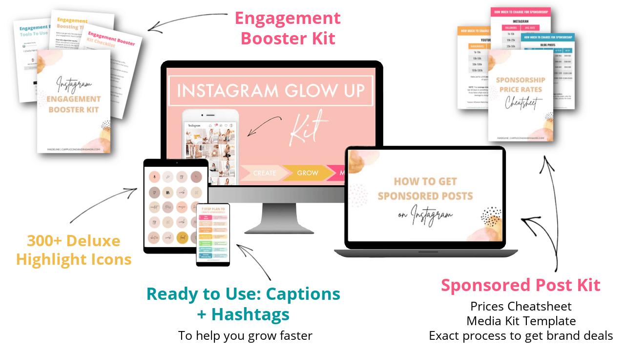 Instagram Glow Up Kit Online Course