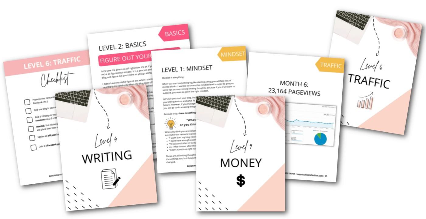 Blogging Secrets Ebook