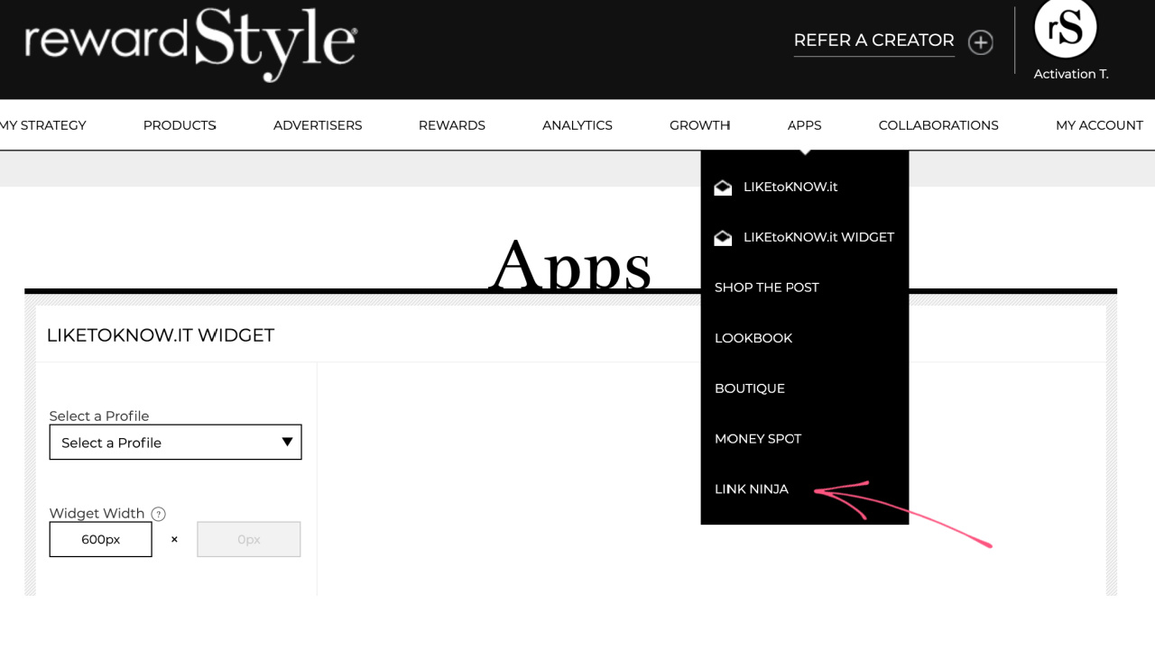 How to Use RewardStyle as a Blogger