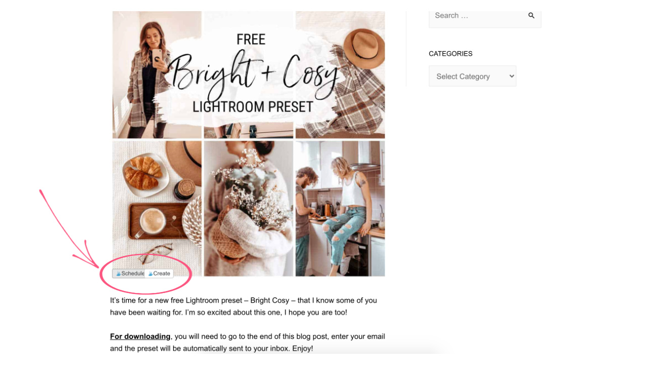 How to Add Pins from Blog to Tailwind Pinterest
