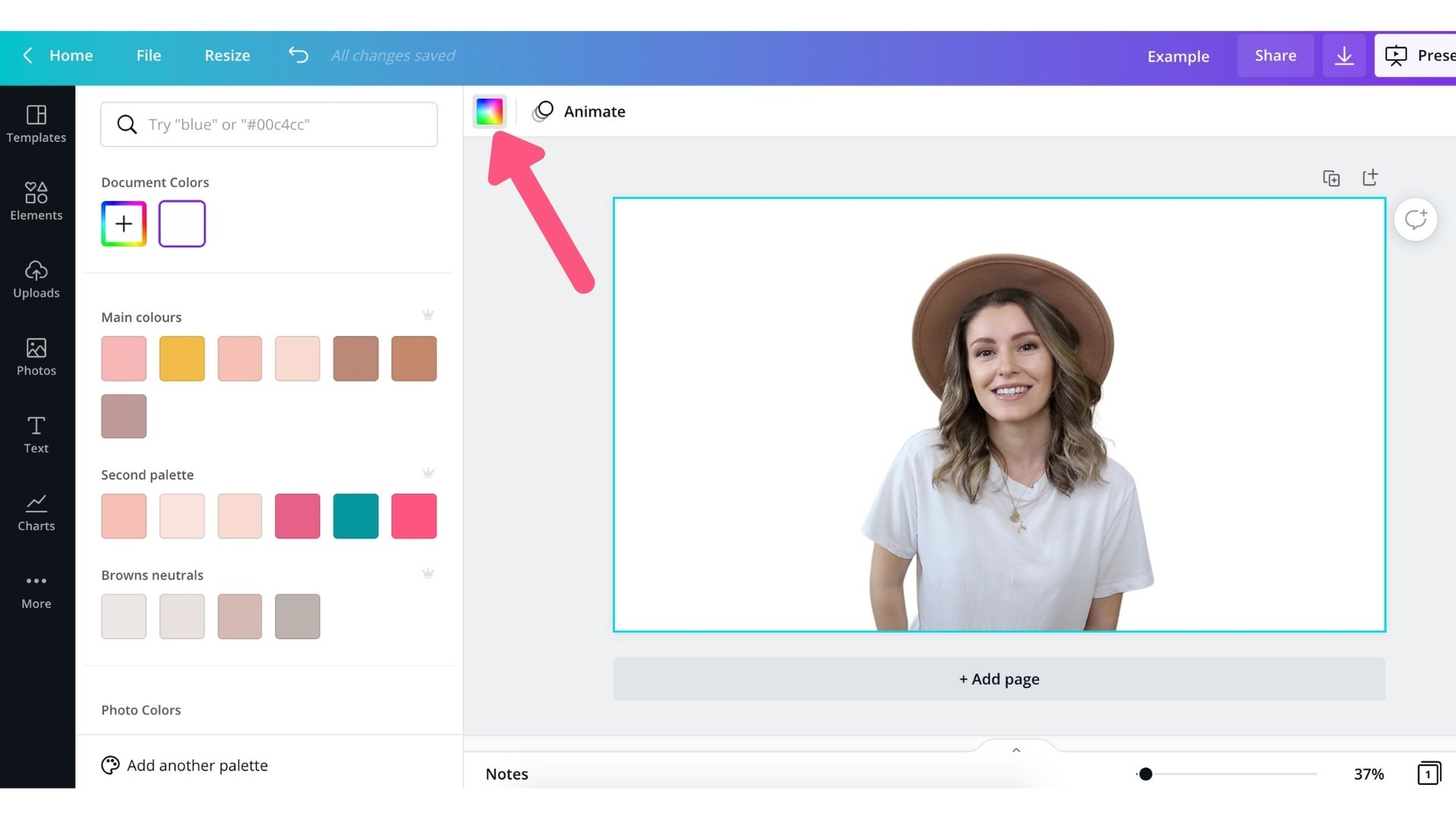 How to Remove Picture Background in Canva