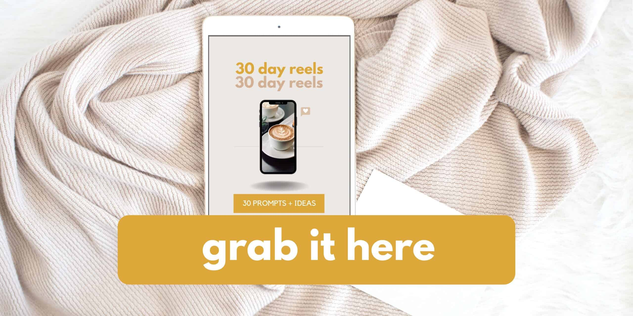 30 Day Instagram Reels Challenge Prompts and Ideas